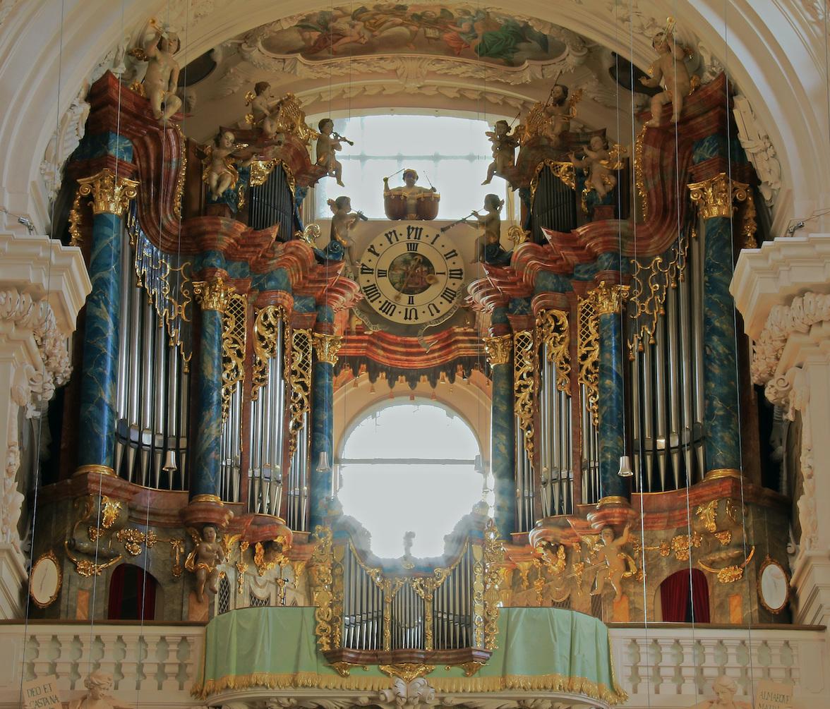 Digitale Orgelwanderungen durch die Stiftsbasilika Waldsassen