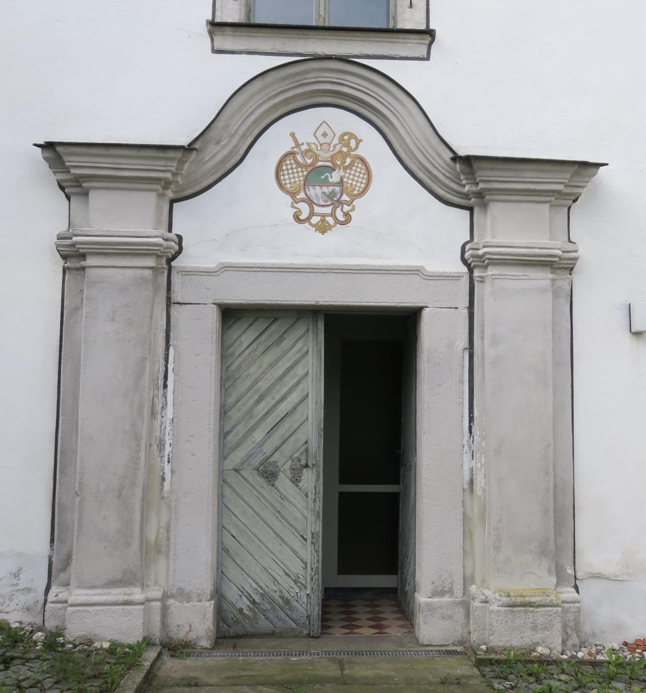 Der Pfarrhof in der ehemaligen Waldsassener Klosterpfarrei Wondreb