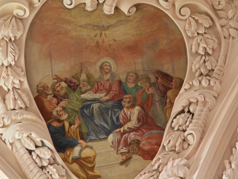 Das Pfingstbild in der Stiftsbasilika Waldsassen