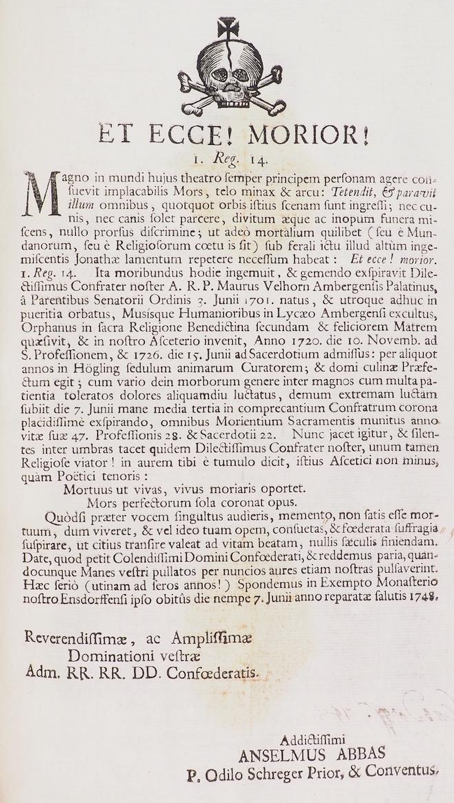 Ensdorf als Literaturort: Rationelle Rotelproduktion in der Bayerischen Benediktinerkongregation