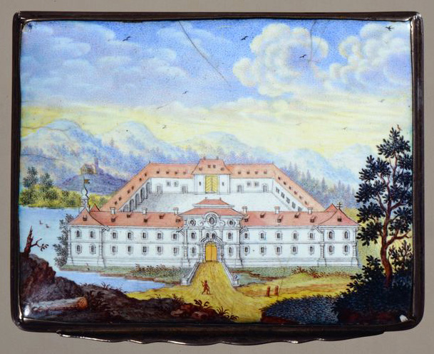 Die älteste Darstellung des Schlosses Fockenfeld