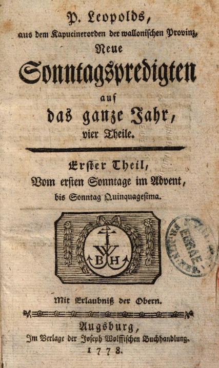 Leopold von Tirschenreuth – die Identität ist geklärt