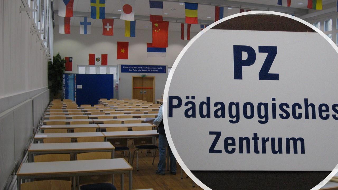 Pädagogisches Zentrum: Raum für Veranstaltungen und Prüfungen