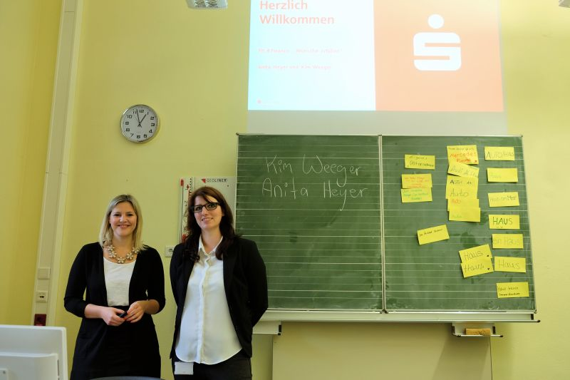 Fit 4 Finance-Schulung der Sparkasse Neuss