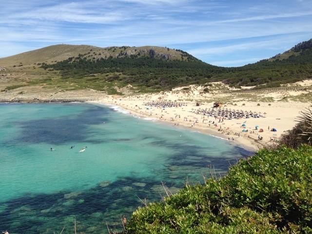 Die Bucht von cala Mescuida