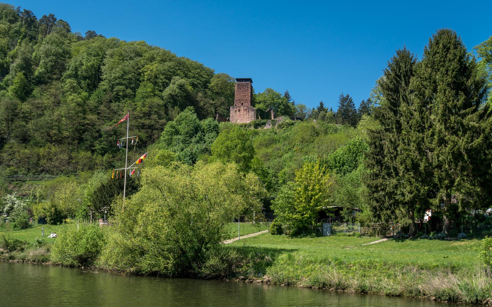 Die Hinterburg, auch Alt-Schadeck