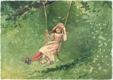 Winslow Homer: Girl on a Swing
