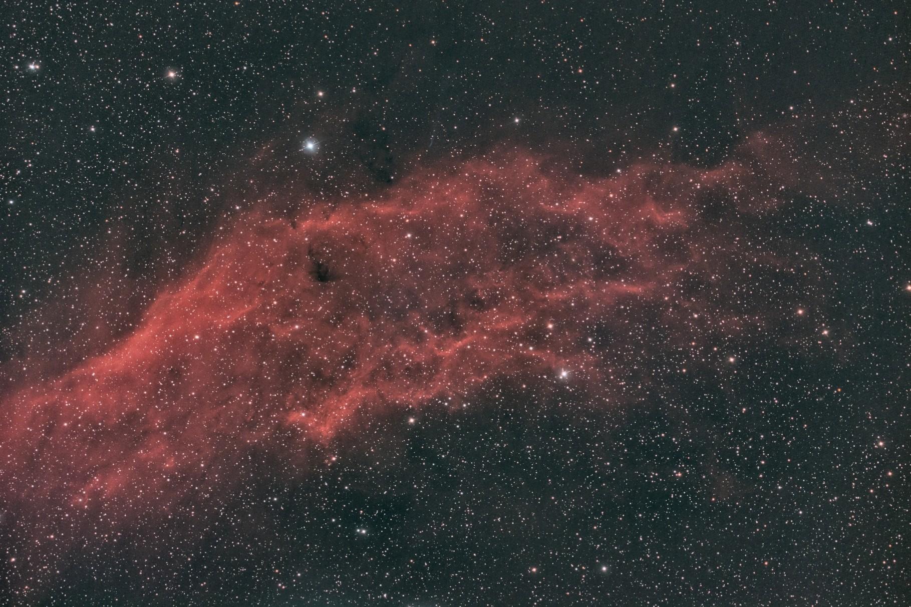 """NGC 1499, EdgeHD11"""" mit Hyperstar, Alccd10, CLS-CCD Filter, 85x120s"""