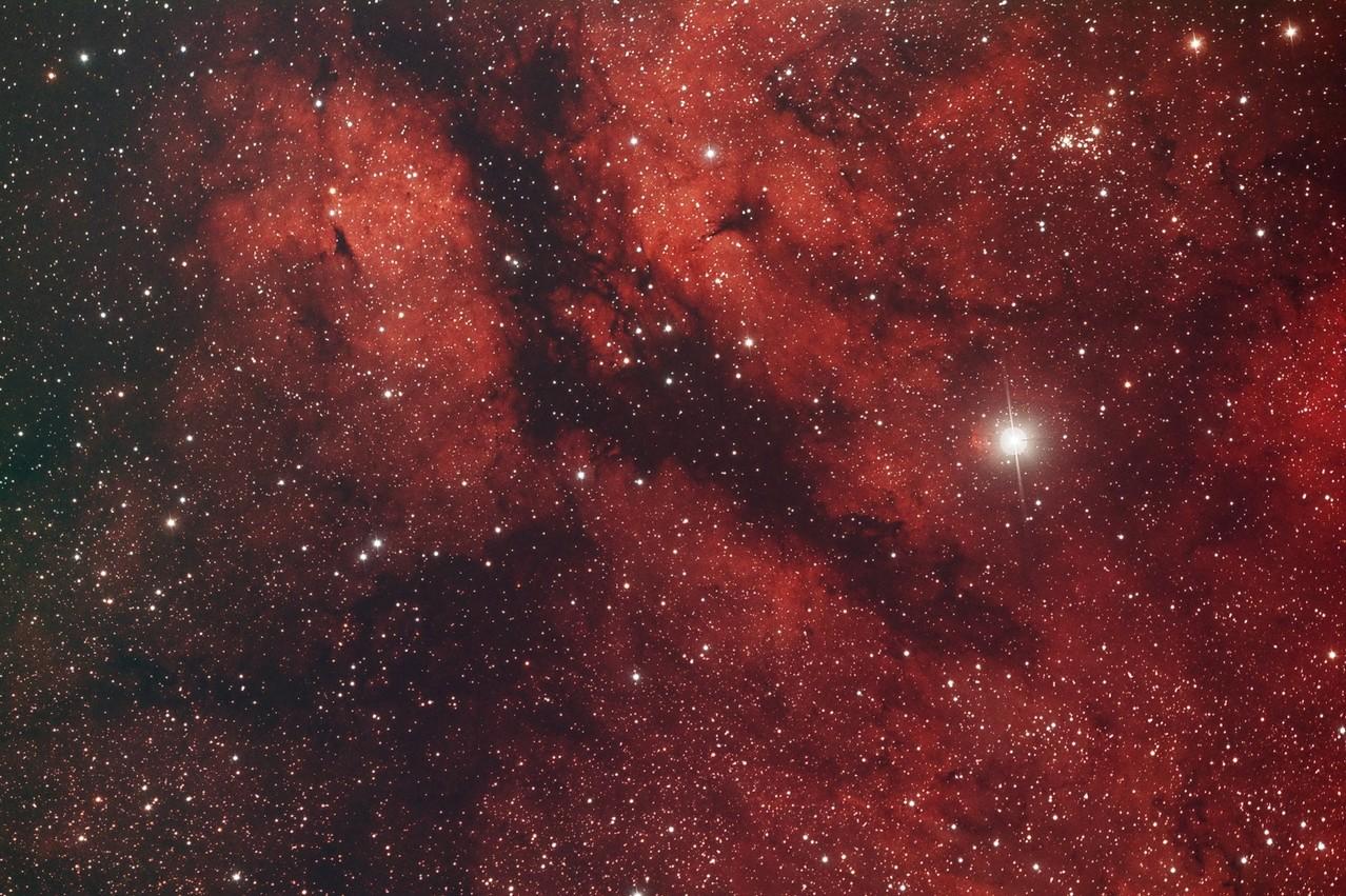 "IC 1318, EdgeHD11"" mit Hyperstar, Alccd10, CLS-CCD Filter, 30x240s"