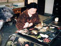 中国西安「漆器工房」