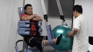 腰痛専用治療器 プロテック療法施術例写真