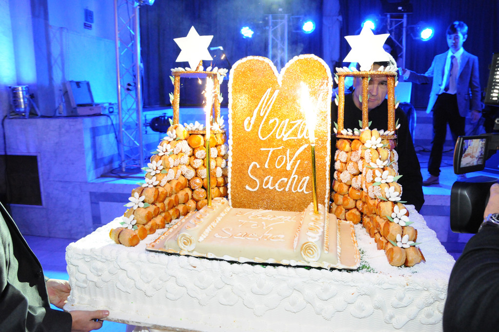 gateau de la bar mitzvah