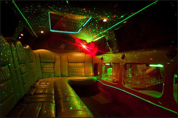 limousine intérieure