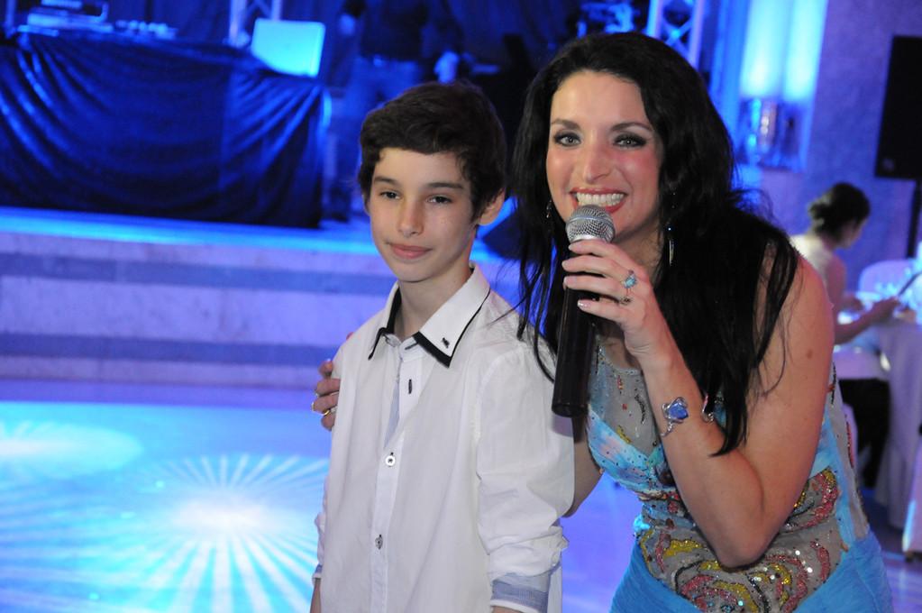 souvenir de sa bar mitzvah avec Régina