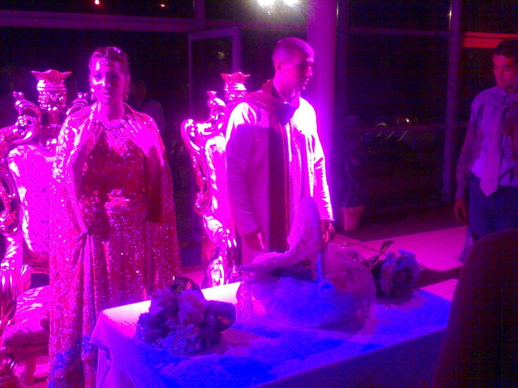 Mariage célébration à la bougie