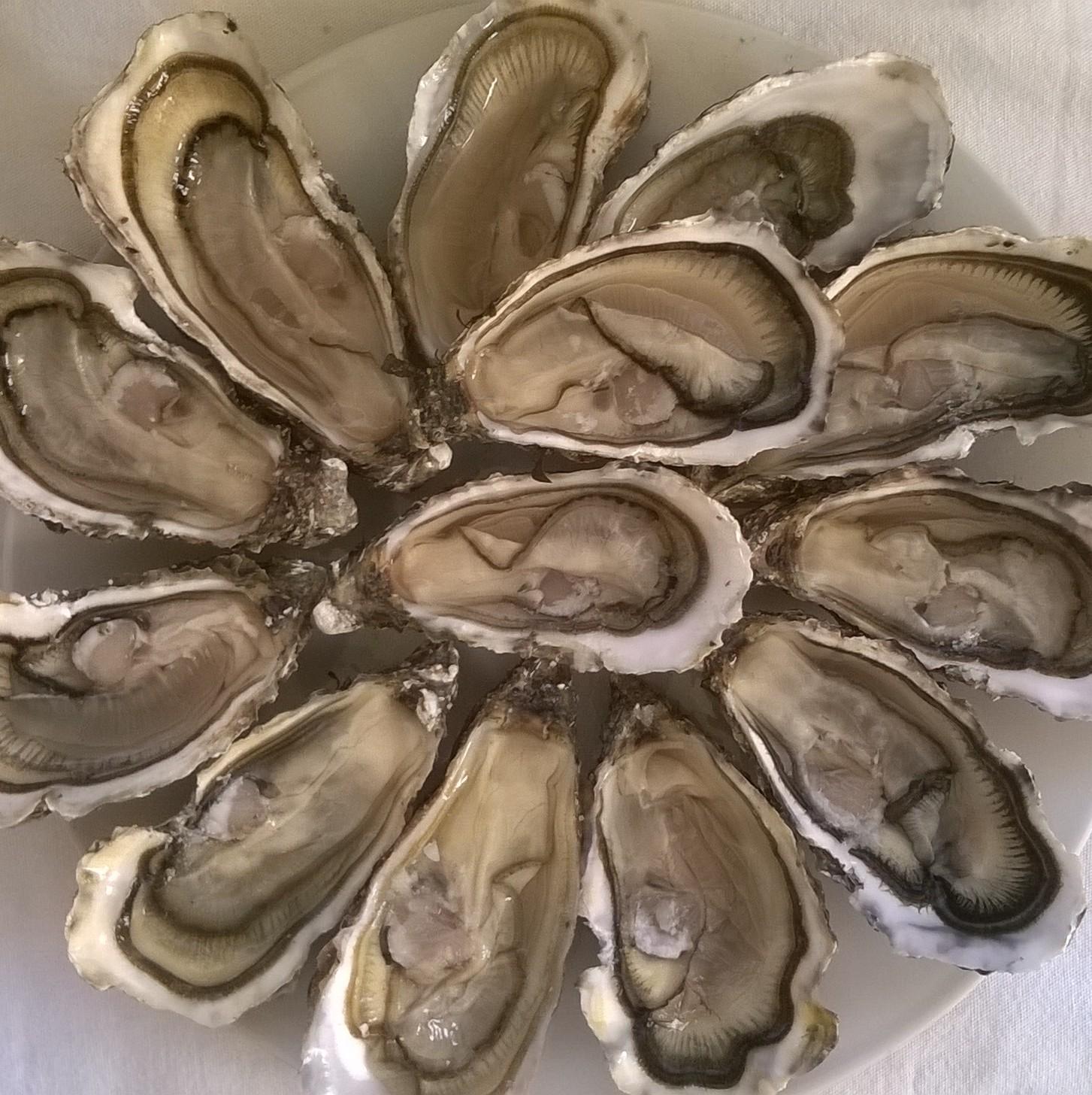 45 jours sans huîtres, ça mérite bien un dessert.
