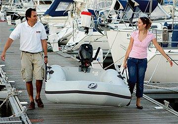 Kompakt und ökonomisch für den erstmaligen Schlauchbootkäufer. Boot mit Selbstvertrauen ab Ihrer ersten Fahrt.