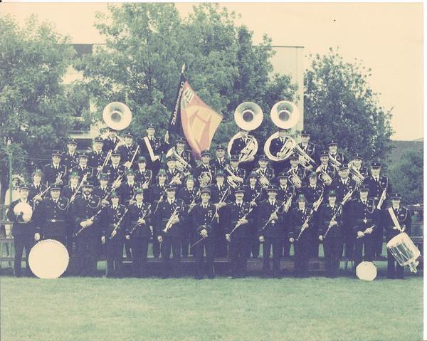 Kantonales Musikfest 1984 in Lyss, Dirigent August Zellweger