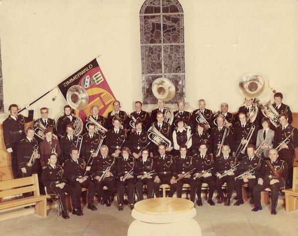 Kirche Zimmerwald 1978, Dirigent Ueli Hänni