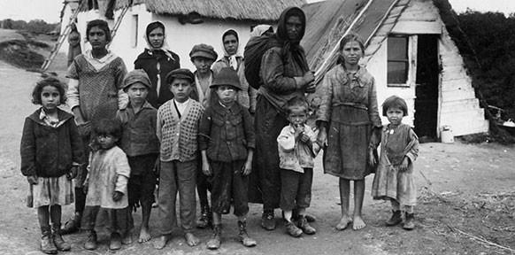 Roma-Siedlung, Mörbisch 1930er-Jahre