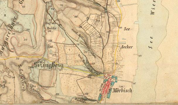 Karte von 1873