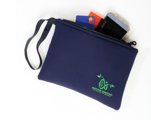 CleanWaves: la pochette d'homme/Femme avec le tissu de blindage anti-rayonnement