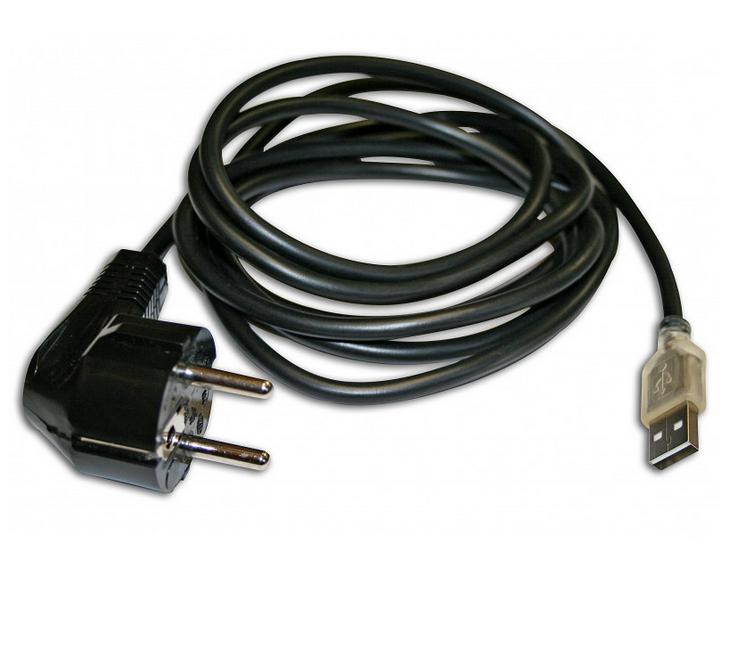 Câble USB de mise à la terre du modem et tout appareil non muni d'une prise de terre.