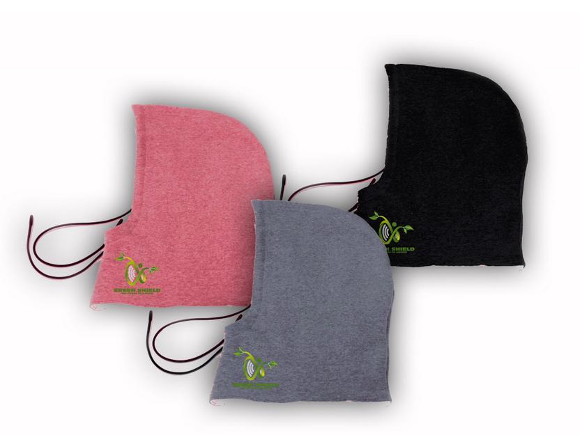 CleanWaves: Capuche avec le tissu de blindage anti-rayonnement