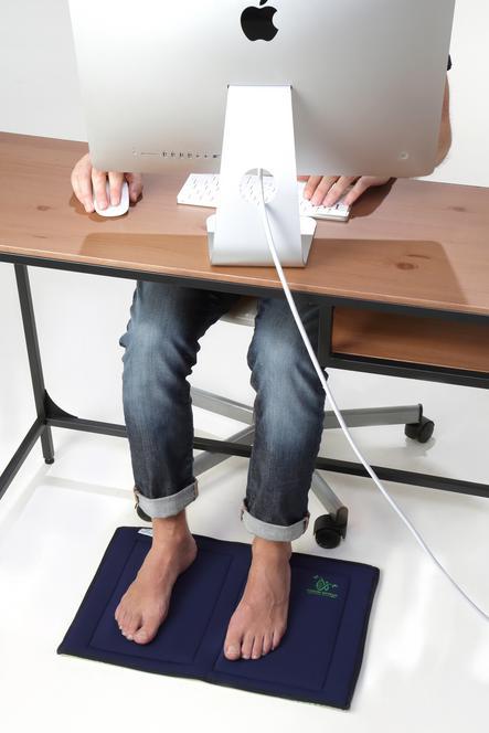 Softmag tapis plasma pieds