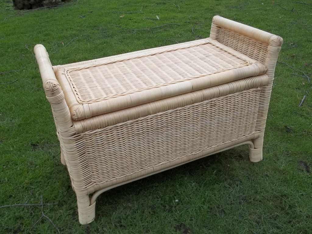 Sitztruhe rattan interesting truhe with sitztruhe rattan affordable latest sobuy sitzkasten - Banktruhe garten ...