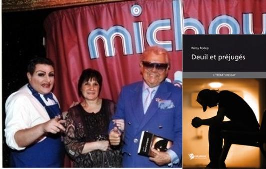 la réédition de Deuil et préjugés est présentés sur la scène de chez Michou