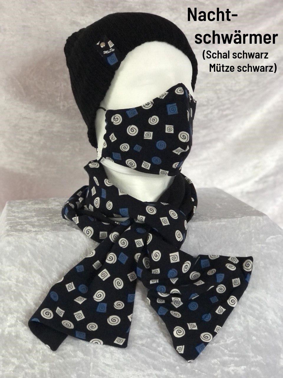 E - Maske + Schal + Mütze