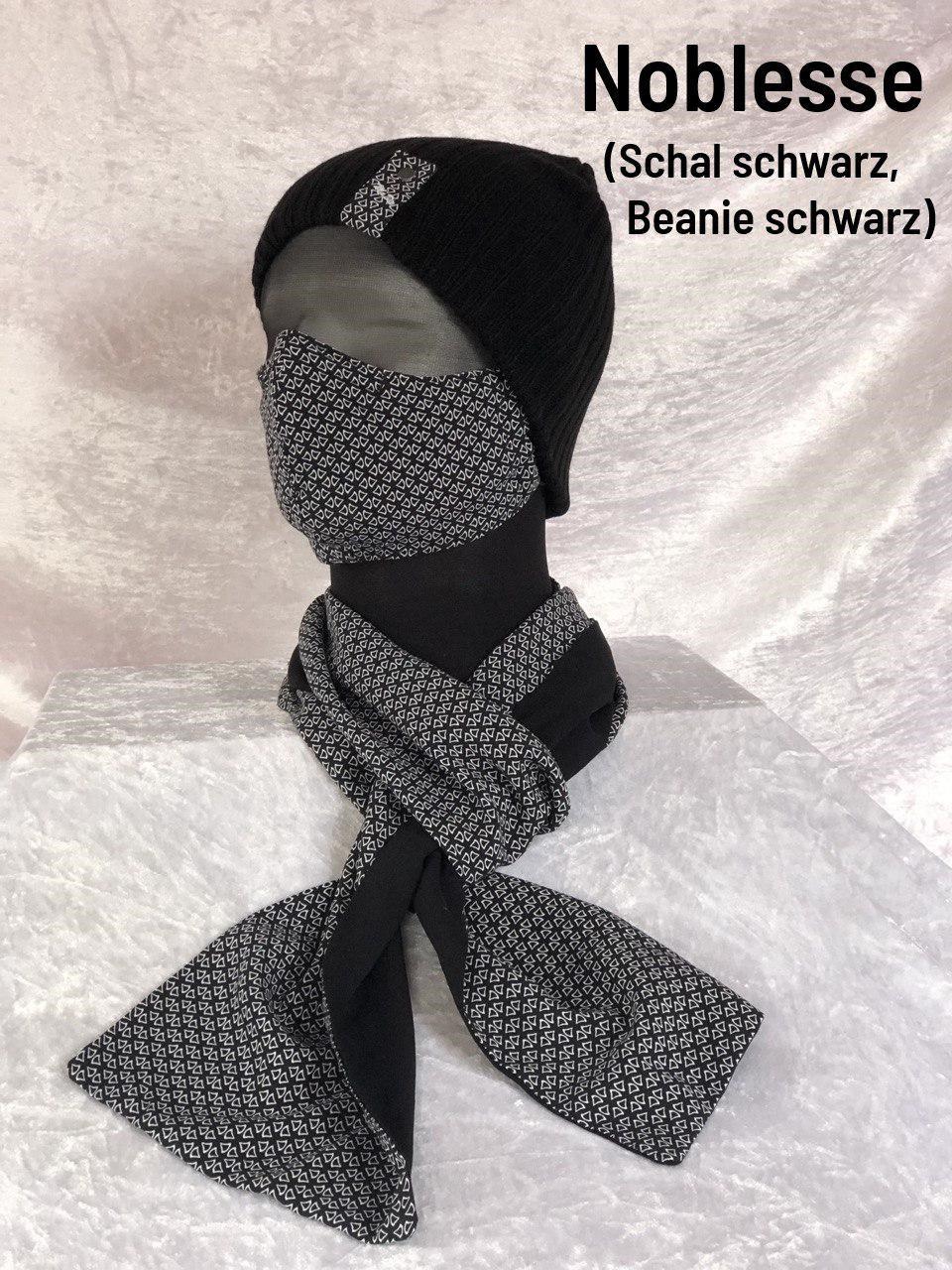 E1 - Maske + Schal + Mütze