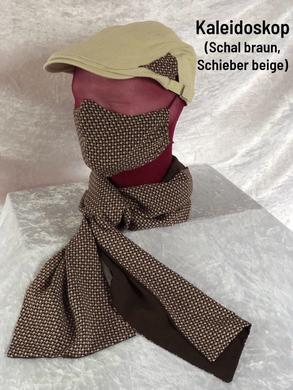 B2 -Maske + Schal + Schieber beige
