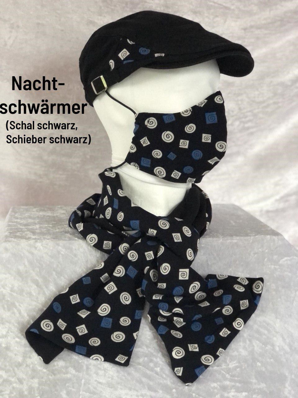B- Maske + Schal + Schieber