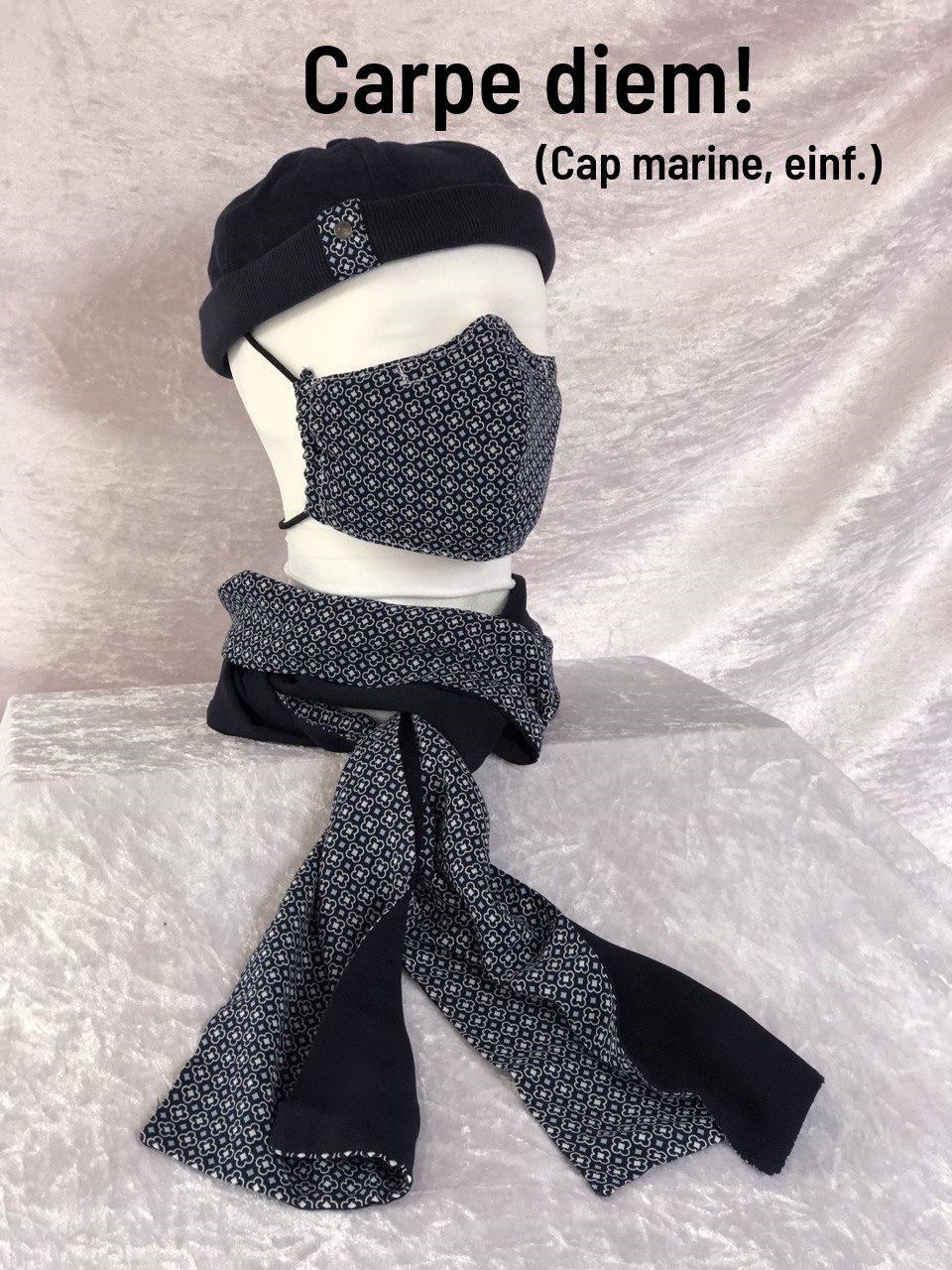 D1 - Maske + Schal + Cap einfach