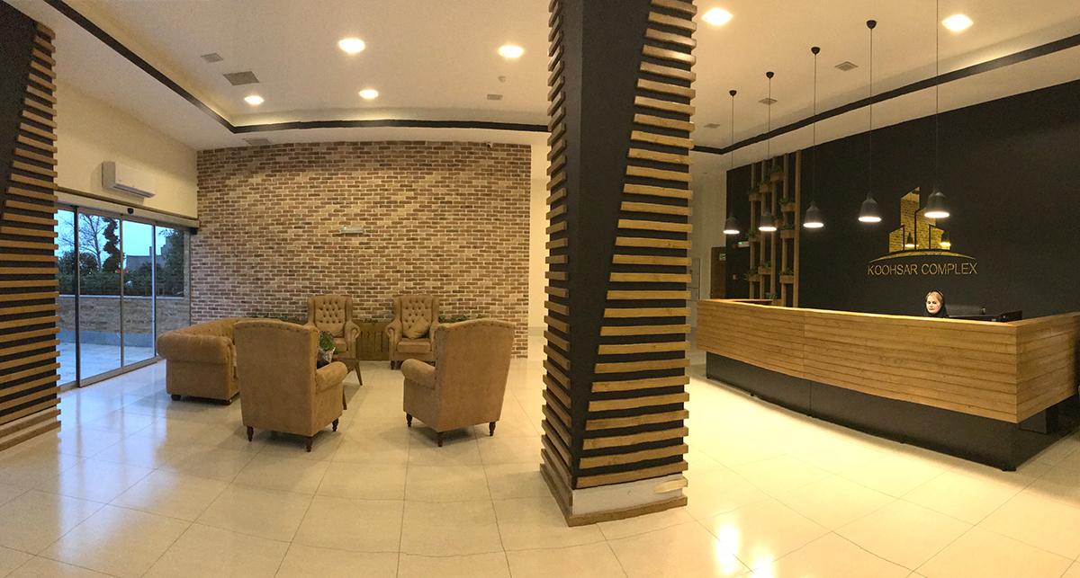 Lobby Wohnanlage