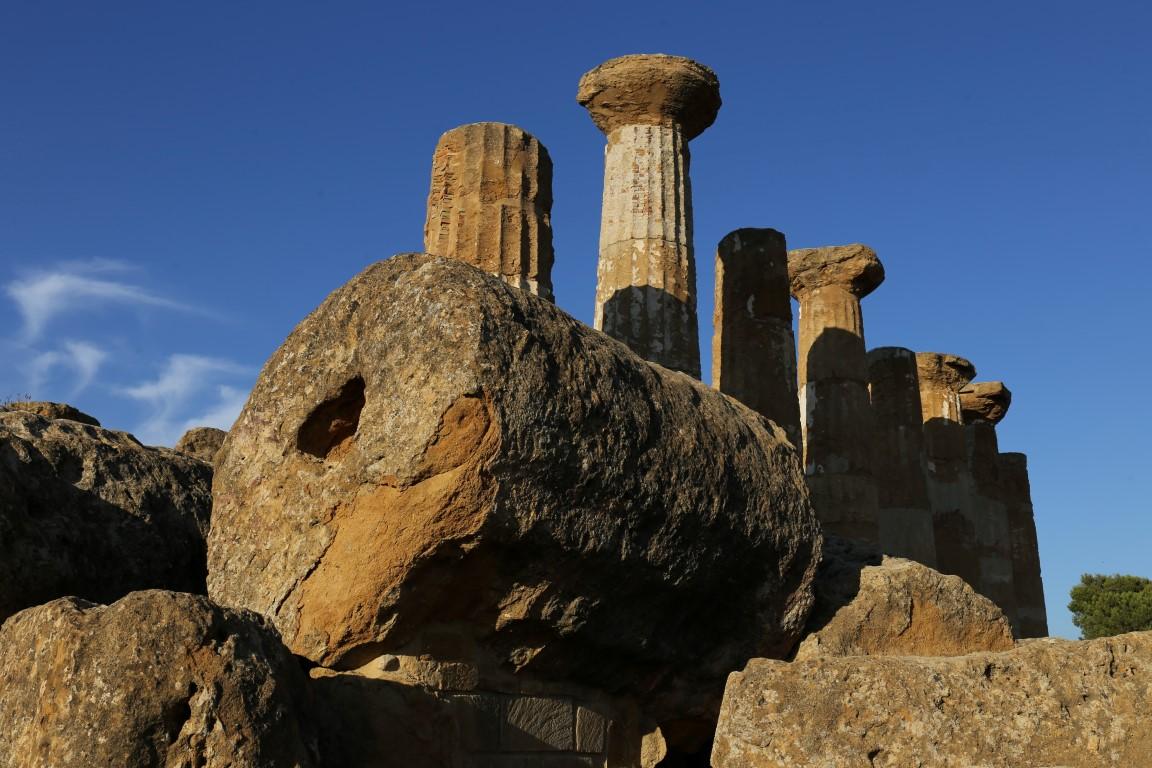 Tempio di Ercole | Valle dei Templi | Agrigento