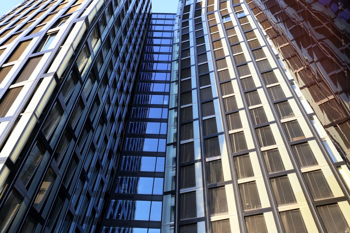 Twin Towers     Hamburg Germany 2017