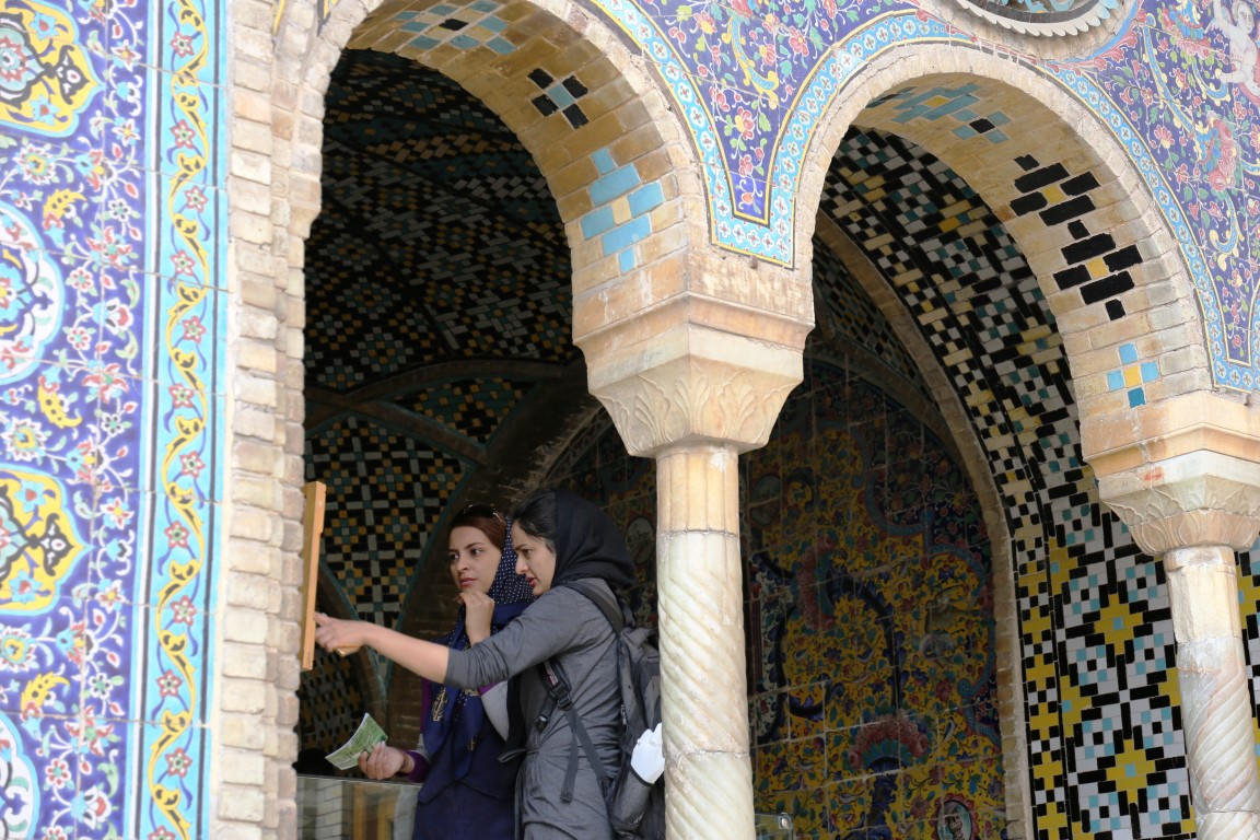 November 2018 | Golestan Palace | Arcades in the Courtyard