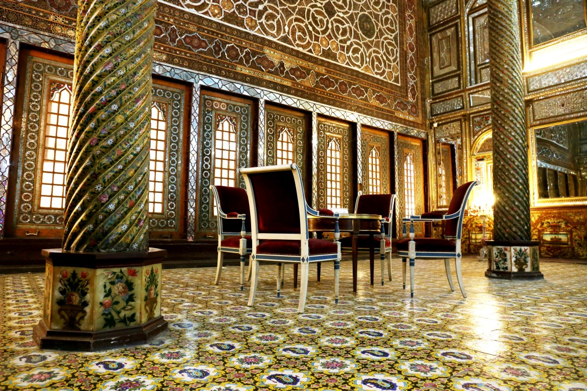 February 2018 | Golestan Palace | Interior of Emarat-e Badgir (Building of the Wind Catchers)