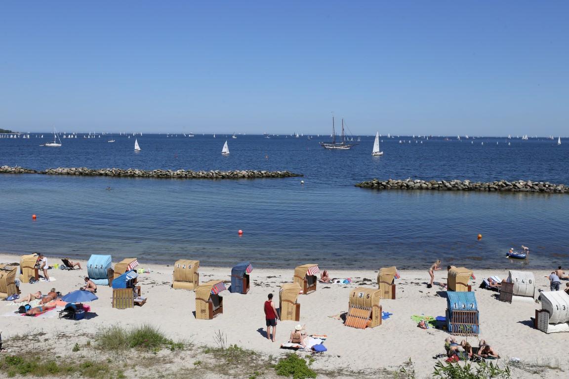 Sandstrand | Olympiahafen Kiel