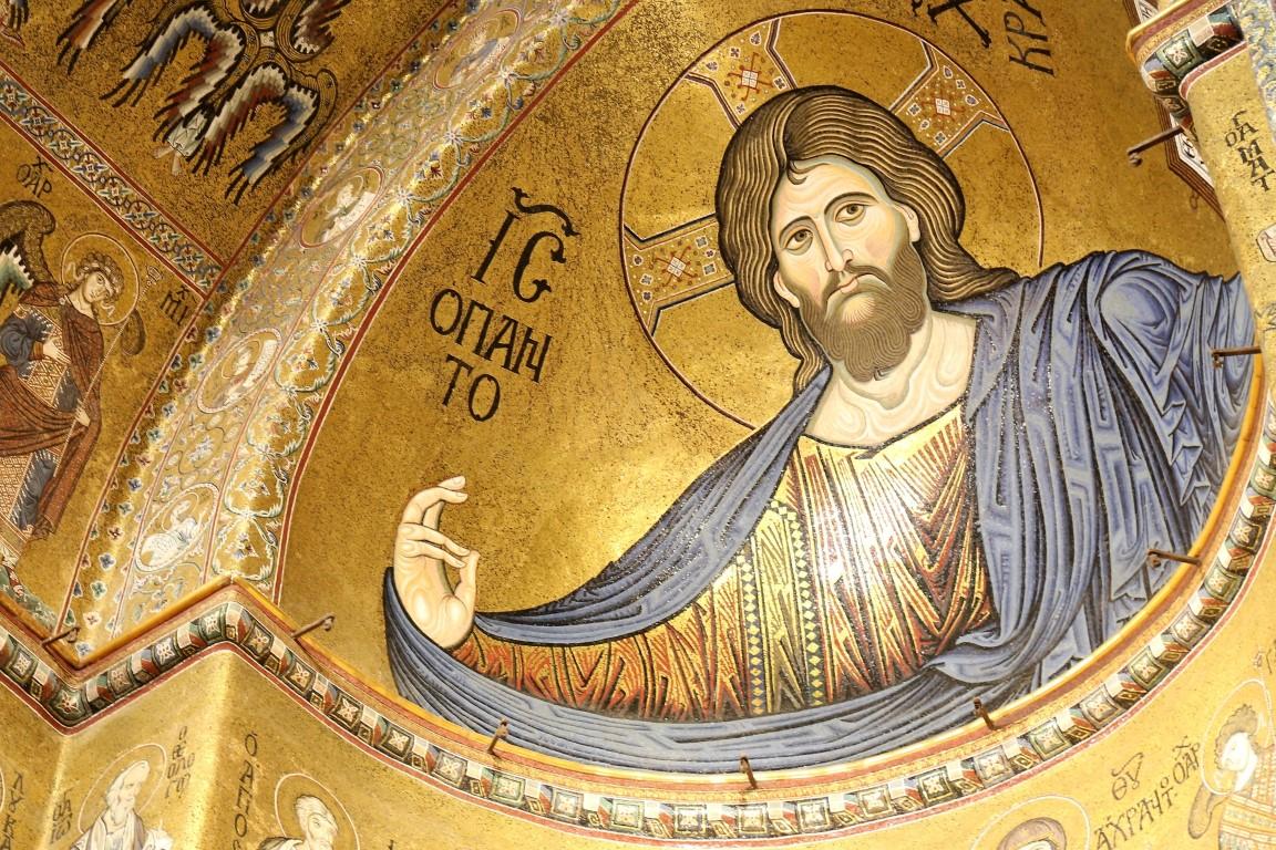 Mosaico Cristo Pantocratore | Duomo Monreale