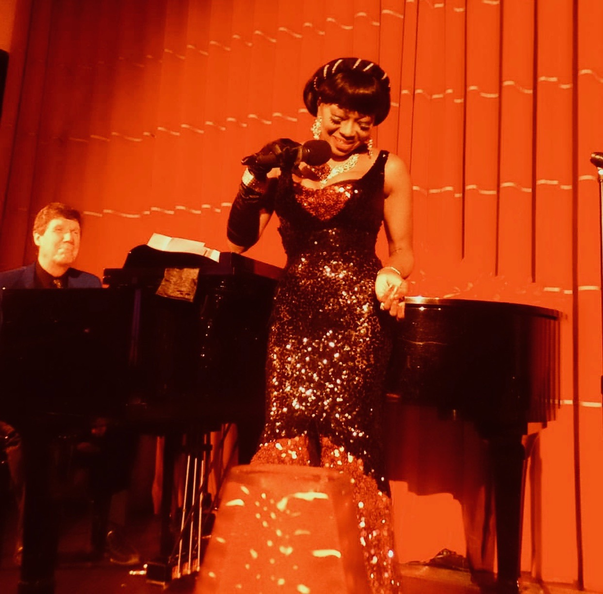 Patti Boulaye: Billie and Me - don't miss this one woman jazz show - Saddleworth Live at the Millgate