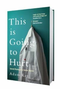 This is Going to Hurt by Adam Kay. Live on tour at Saddleworth's Millgate Arts Centre 23/6/18