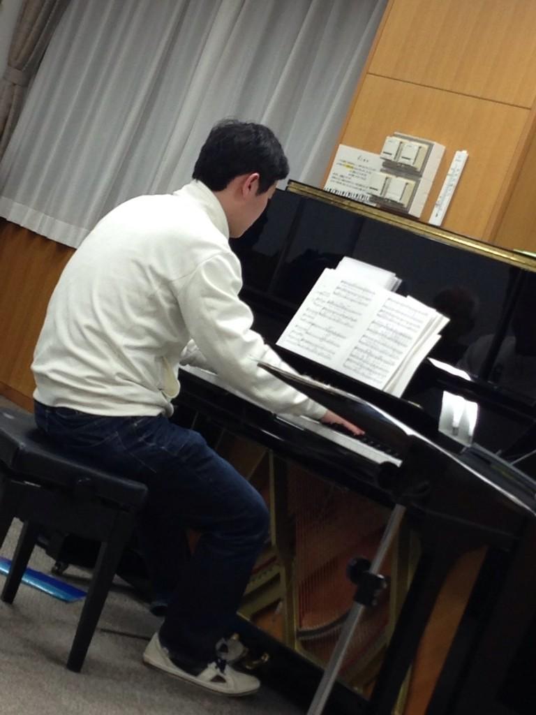 ピアニストの廣瀬先生