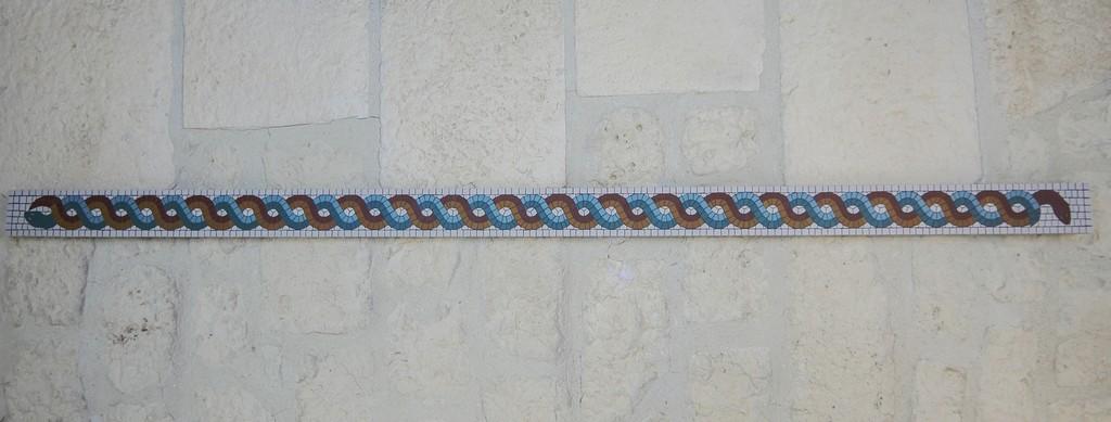 Frise mosaïque décoration