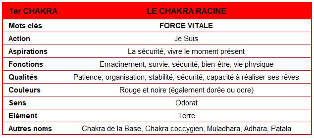 Chakra Racine - www.devenir-zen.fr