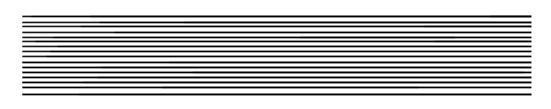 マンガスクール・はまのマンガ倶楽部/定規による平行線
