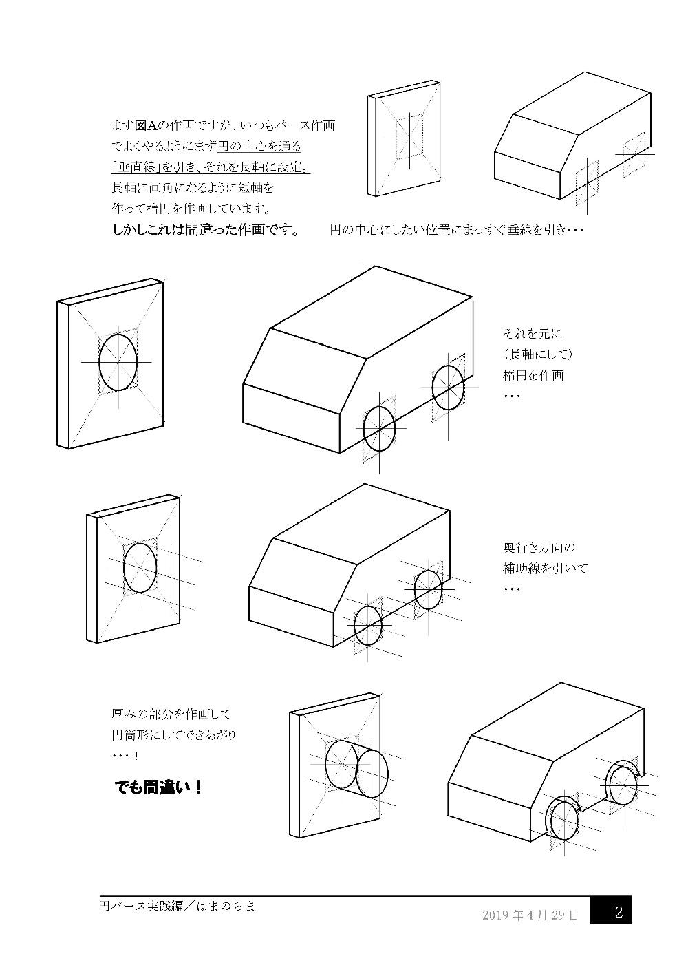円パース実践編2